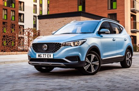 MG ZS EV The Electric Wall Flower.